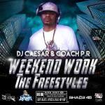 DJCaesar - #WeekendWorkSXM - The Freestyles Cover Art