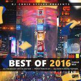 djchrisstyles - 2016 Year End Mix (Clean) Cover Art