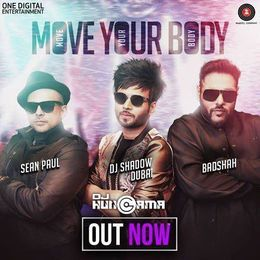 DJHungama - Move Your Body - DJ Shadow Dubai & Sean Paul & Badshah Cover Art