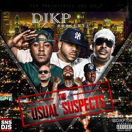 DJKP704 - DJKP presents The Usual Suspects Cover Art