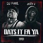 DJ Paul KOM - Dats It Fa Ya Cover Art