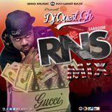 DJ Quest Gh - RNS (RICH NIGGA SHIT) Mix Cover Art