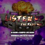 djrainn. - Listen Up - The Radio Mix Cover Art