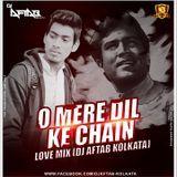 DJsBuzz - O Mere Dil Ke Chain (Love Mix) DJ Aftab Kolkata Cover Art