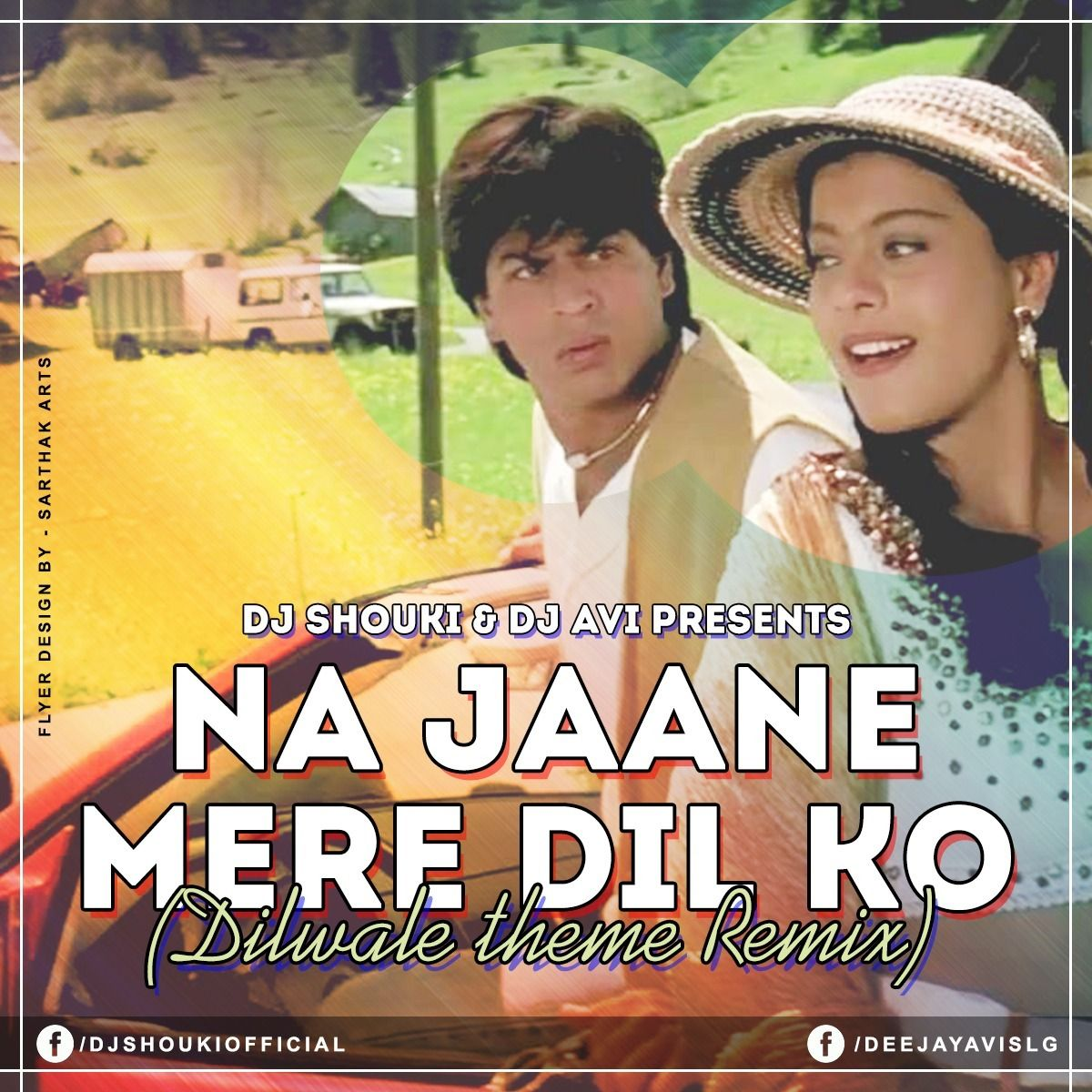 """Download Song Gerua Of Dilwale: """"Najane Mere Dil Ko (Dilwale Theme"""