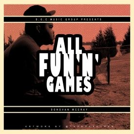Donovan McCray - All Fun N Games Cover Art