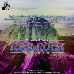 DreamS Promo - Real Rock Riddim - UNSORTED Vol. 1 Cover Art