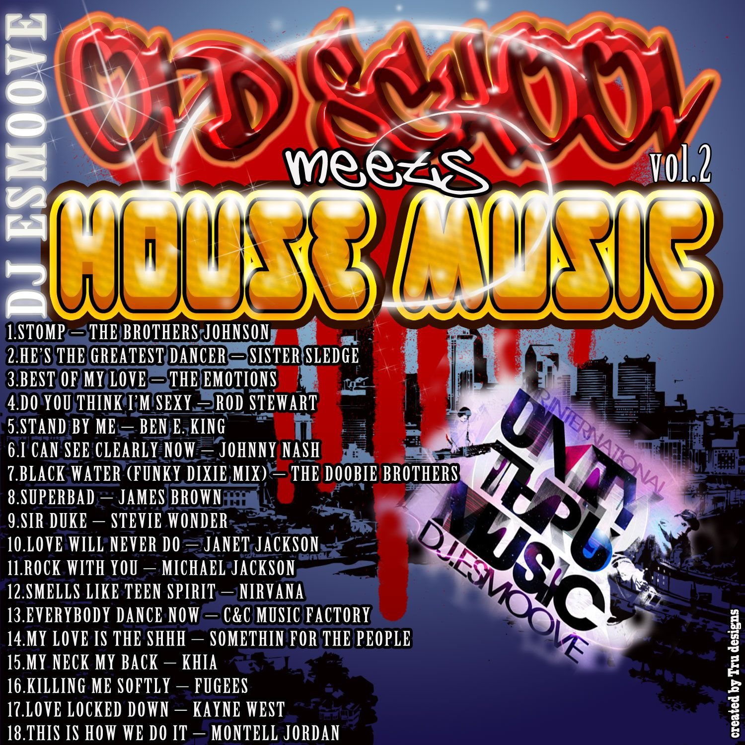 Dj E Smoove Old School Meets House Music Vol Ii Ft