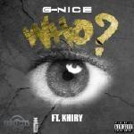 G-NICE - Who?? Cover Art