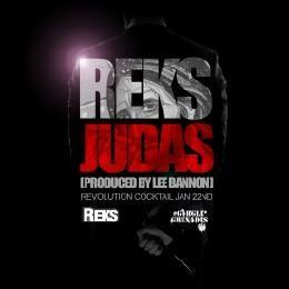 """garglegrenades - Reks """"Judas"""" produced by Lee Bannon Cover Art"""