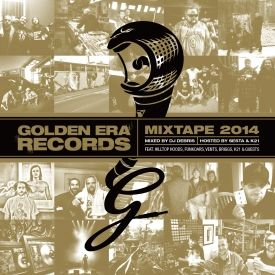 Golden Era Records - 2014 Golden Era Records Mixtape Cover Art