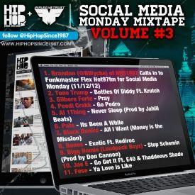 HHS1987 - Social Media Monday (Mixtape) (11/12/12) Cover Art