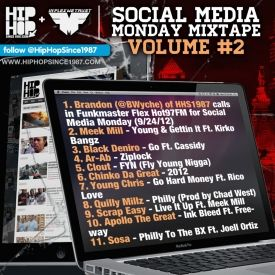 HHS1987 - Social Media Monday Mixtape Vol. 2 Cover Art