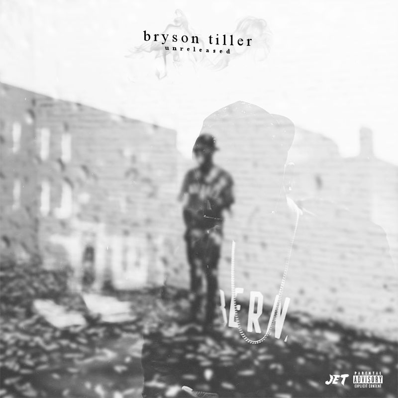 "Bryson Tiller Album Cover: ""Unreleased "" Ft. DJ Dane Foxx"