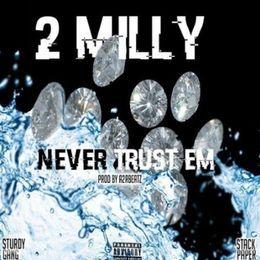 Hip Hop PR - Never Trust Em Cover Art