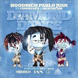 Hoodrich Pablo Juan - Diamond Dance  Cover Art