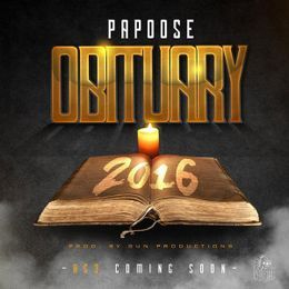 Hustle Hearted - Obituary 2016 Cover Art
