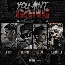 Hustle Hearted - You Ain't Gang Remix Cover Art