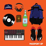 DJ J HART - Passport EP Cover Art