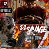 iLLmixtapes.com - 21 Vs. 22 Savage Cover Art