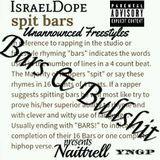 IsraelDope - Bars & Bullshit (Presenting Naittrell) Cover Art