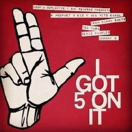 JHP - I Got 5 On It Cover Art