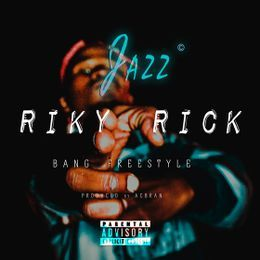 "JAZZ - ""Riky Rick"" (BANG/EISH) Cover Art"