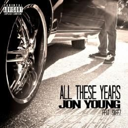 Jon Young - All These Years Cover Art