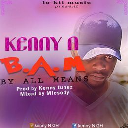 Kenny N - KENNY N - BY_ALL_MEANS (B.A.M) Cover Art