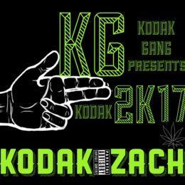 Kodak Zach - 2K17 Cover Art