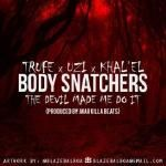Khal'el - Body Snatchers (The Devil Made Me Do It) Cover Art