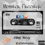 King Seezy - Monsters FreeStyle Cover Art