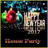 leo cave - Happy New year 2017 House party Cover Art