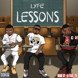 LyfeOfAdon - Lyfe Lessons Cover Art