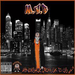M.A.B - Abnoxshuz From U.K To U.S Vol.1 Cover Art