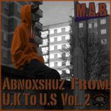 M.A.B - Abnoxshuz From U.K To U.S Vol.2 Cover Art