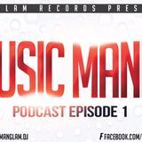 MANGLAM - Music Mania Podcast (Episode 1) Cover Art