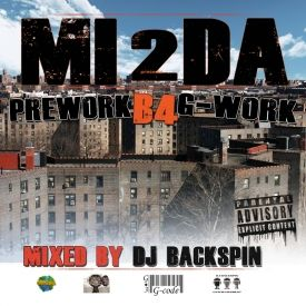 MI2da - PreWork B4 G-Work Mixed by Dj Backspin Cover Art