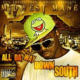 Midwest Mane - All Da Way Down South Cover Art