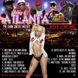 MixtapeAtlas.com - Welcome 2 Atlanta BET Hip Hop Awards Pre Show Concert Mixtape 2014 Cover Art