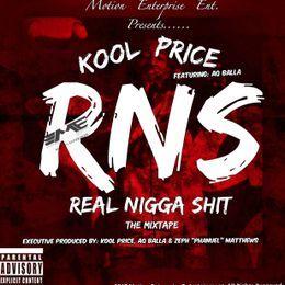 Motion Enterprise Ent - RNS (Real Nigga Shit) The MixTape Cover Art