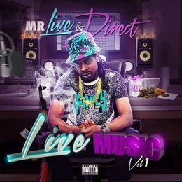 Mr.Live & Direct - Live Music Vol 1 Cover Art