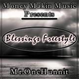 Mr.One00 - Blessings Freestyle Cover Art