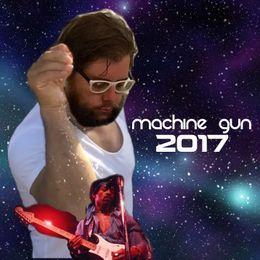 Patrick Bradley - Machine Gun 2017 Cover Art