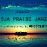 PeeCliff - 9JA PRAISE JAMZ Cover Art