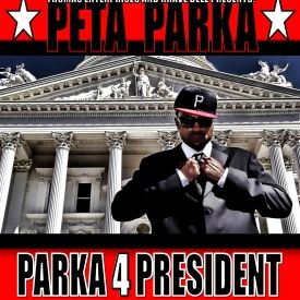 PETA PARKA - PARKA 4 PRESIDENT Cover Art