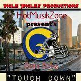 Rida Bone - Touch Down Cover Art