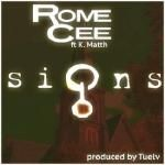 Rome Cee - 04 Signs Cover Art
