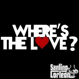 Santino Corleon - Where's The Love Cover Art