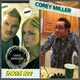 Sarge Approved - Episode #22 Corey Miller Cover Art